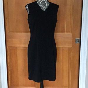AKA Eddie Bauer  sleeveless sheath dress size 8